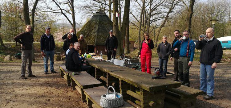 Arbeitsdienst an der Köhlerhütte 2019